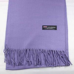 Accessories - Lavender Cashmere Scarf New